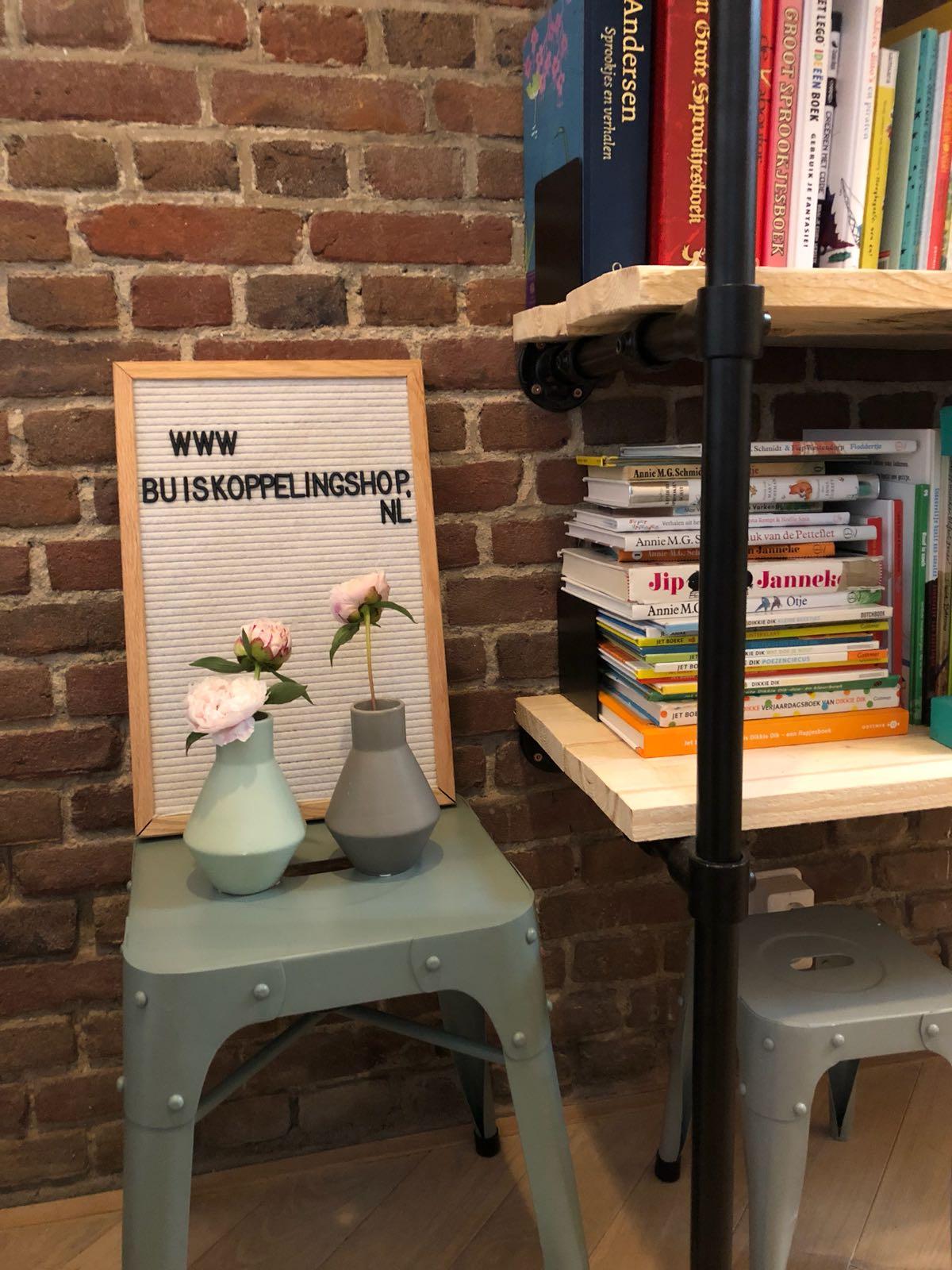 warte steigerbuis boekenkast op maat